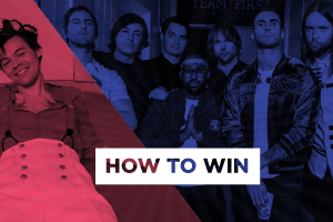 Win a trip to see Maroon 5 or Harry Styles!