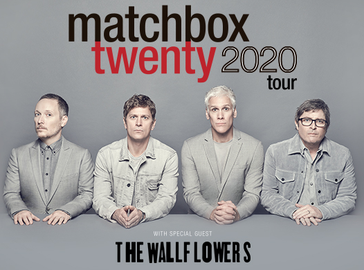 Aug 4 – Matchbox Twenty with The Wallflowers