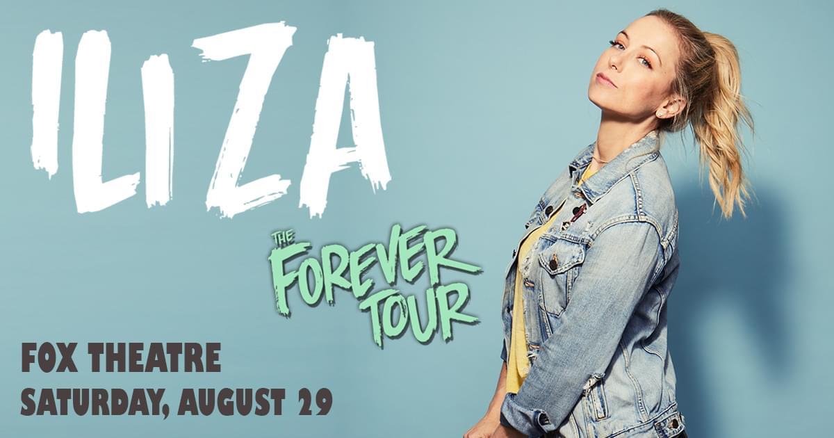 Aug 29 – Iliza
