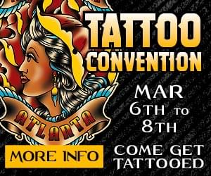 Villain Arts Tattoo Convention