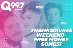 THANKSGIVING WEEKEND FREE MONEY SONGS – SUNDAY