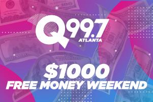 $1000 FREE MONEY WEEKEND