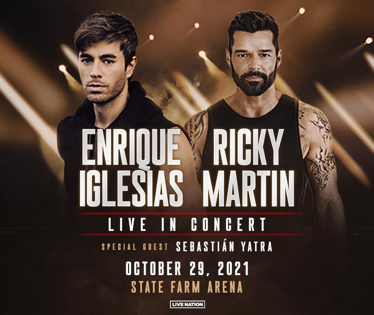 OCT 29 – Enrique Iglesias & Ricky Martin