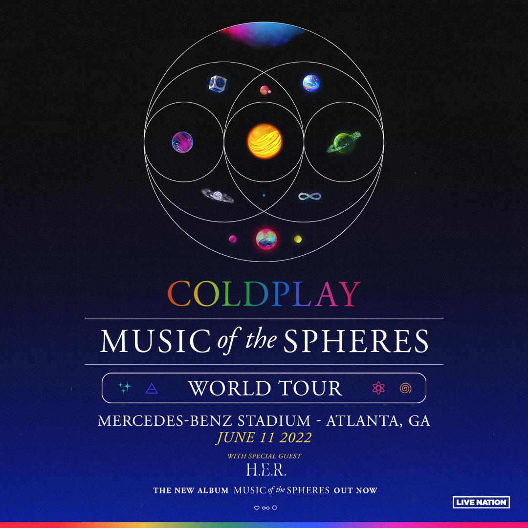 JUN 11 – Coldplay