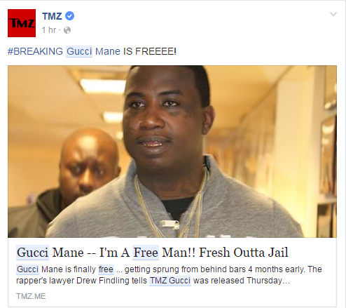 Gucci Mane I'm A Free Man!! Fresh Outta Jail