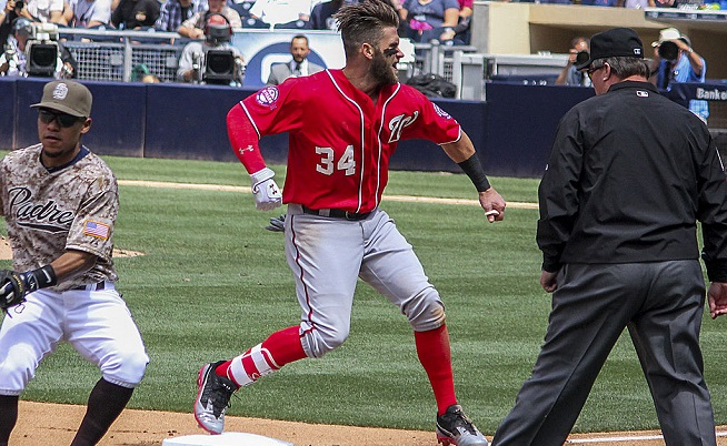 Nationals Sweep League for Player and Pitcher of Month