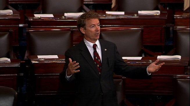Rand Paul Patriot Act Reauthorization Filibuster