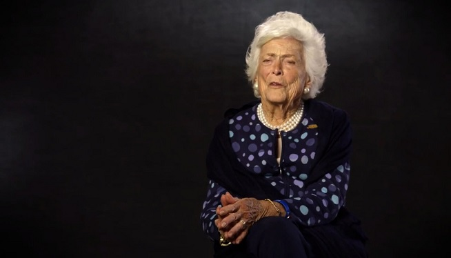 Barbara Bush campaign video for Jeb Bush: 'I think he'll be a great President'