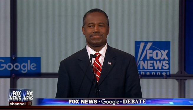 Ben Carson Fox News GOP debate