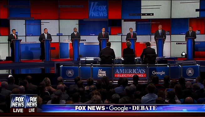 Rand Paul, Chris Christie, Ben Carson, Ted Cruz, Marco Rubio, Jeb Bush and John Kasich