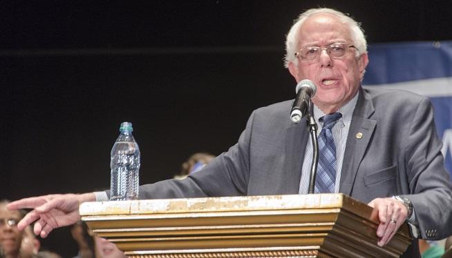 Sanders speaks in Atlanta