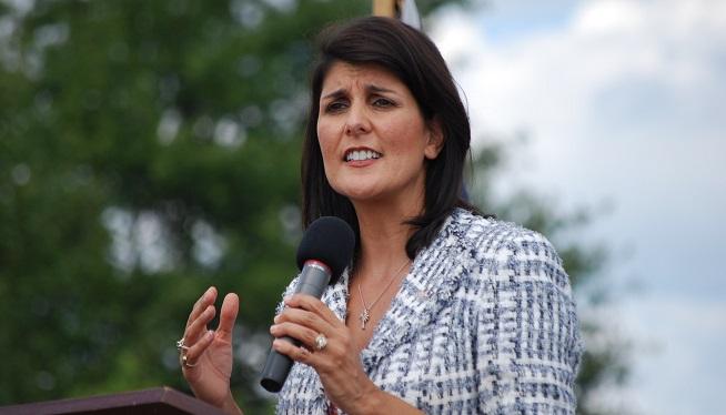 Nikki Haley at Tea Party Express