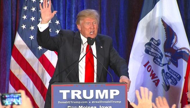 Donald Trump Iowa Caucus
