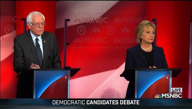 MSNBC Democratic Debate