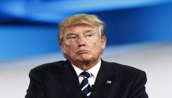 Donald Trump at CNN Republican Presidential Debate