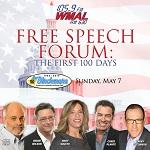 WMAL Free Speech Forum: The First 100 Days