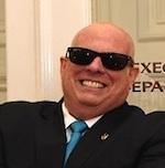 Gov. Larry Hogan Cancer Update Photograph