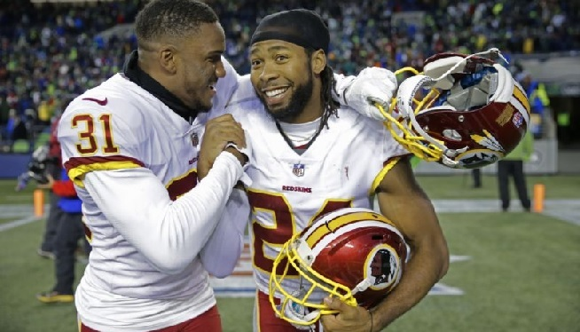 Redskins win - AP
