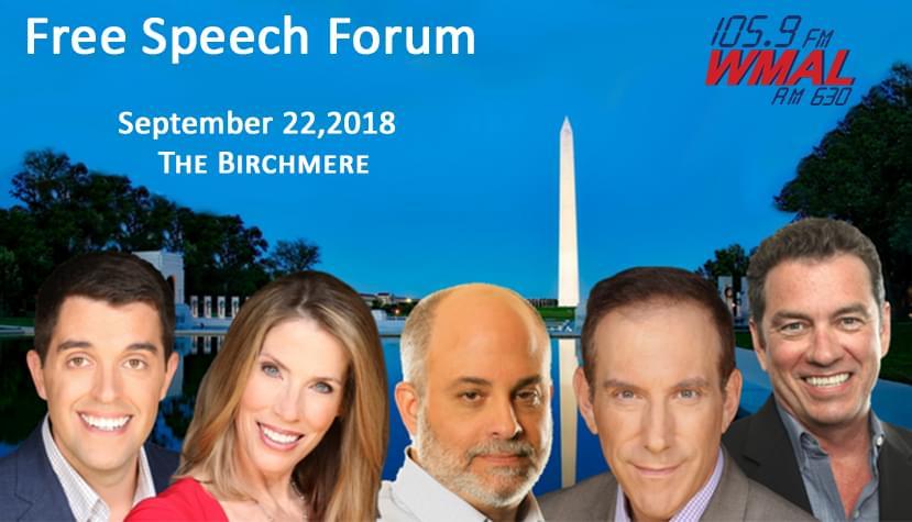 WMAL Free Speech Forum 22Feature22