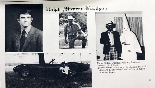 BREAKING: VA Gov. Ralph Northam will not resign and in about-face said he was not in the racist photo on his yearbook page