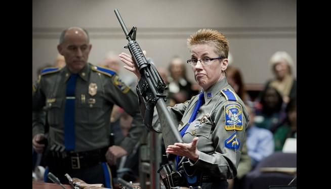 Gun maker offers $33M to settle suit by Sandy Hook families