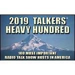 WMAL 2019 Talkers Heavy Hundred Winners