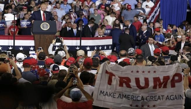 Trump rally AP
