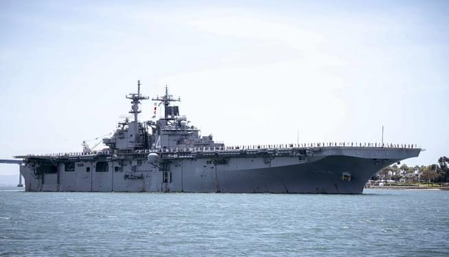 USS Boxer AP
