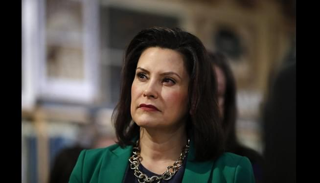 Whitmer won't discuss trip after reported use of private jet