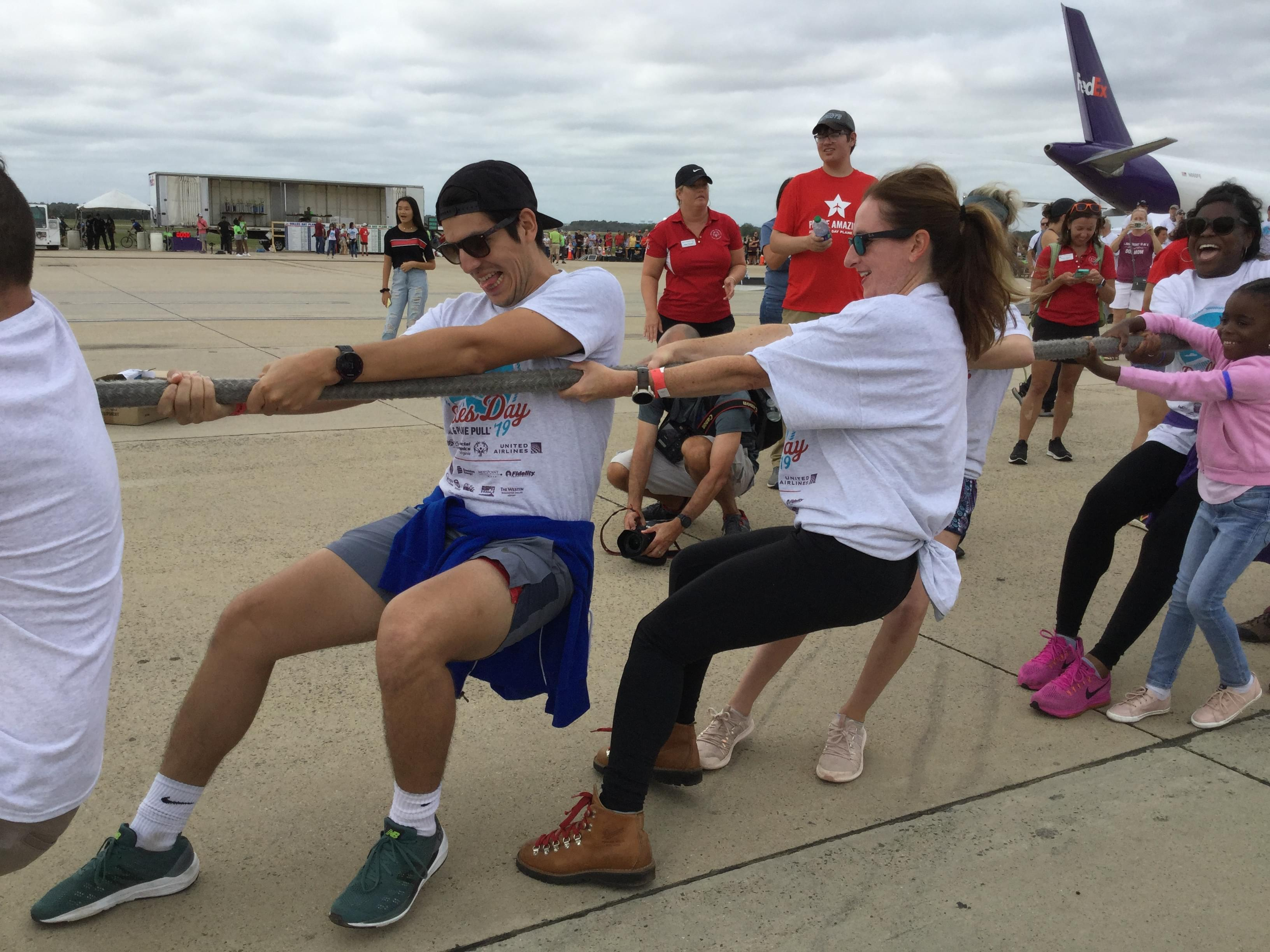 Dulles Day Festival & Plane Pull w/ Special Olympics VA – 9/14/19
