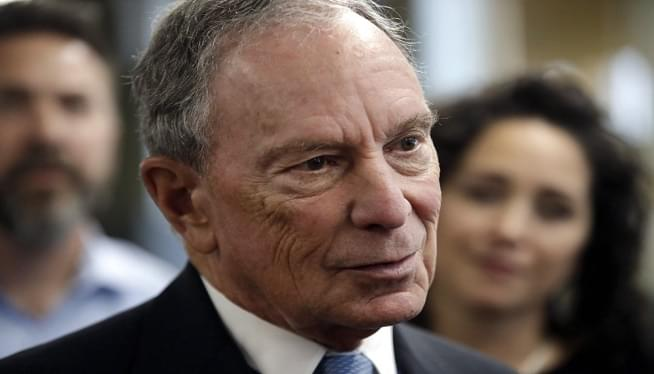 Mike Bloomberg AP