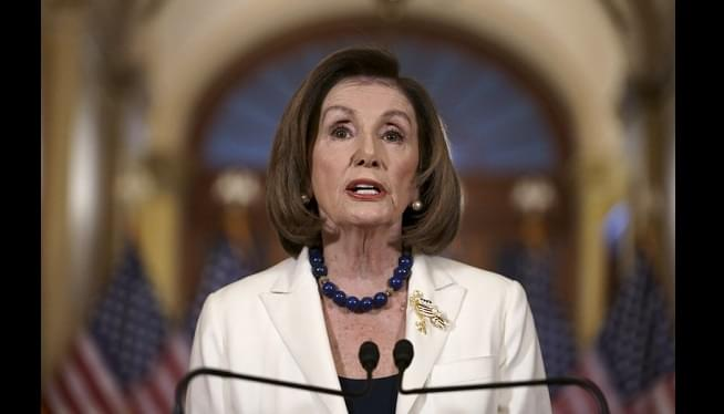 Pelosi Impeachment 1 AP