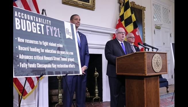 Hogan Highlights Crime-Fighting And Education In Budget