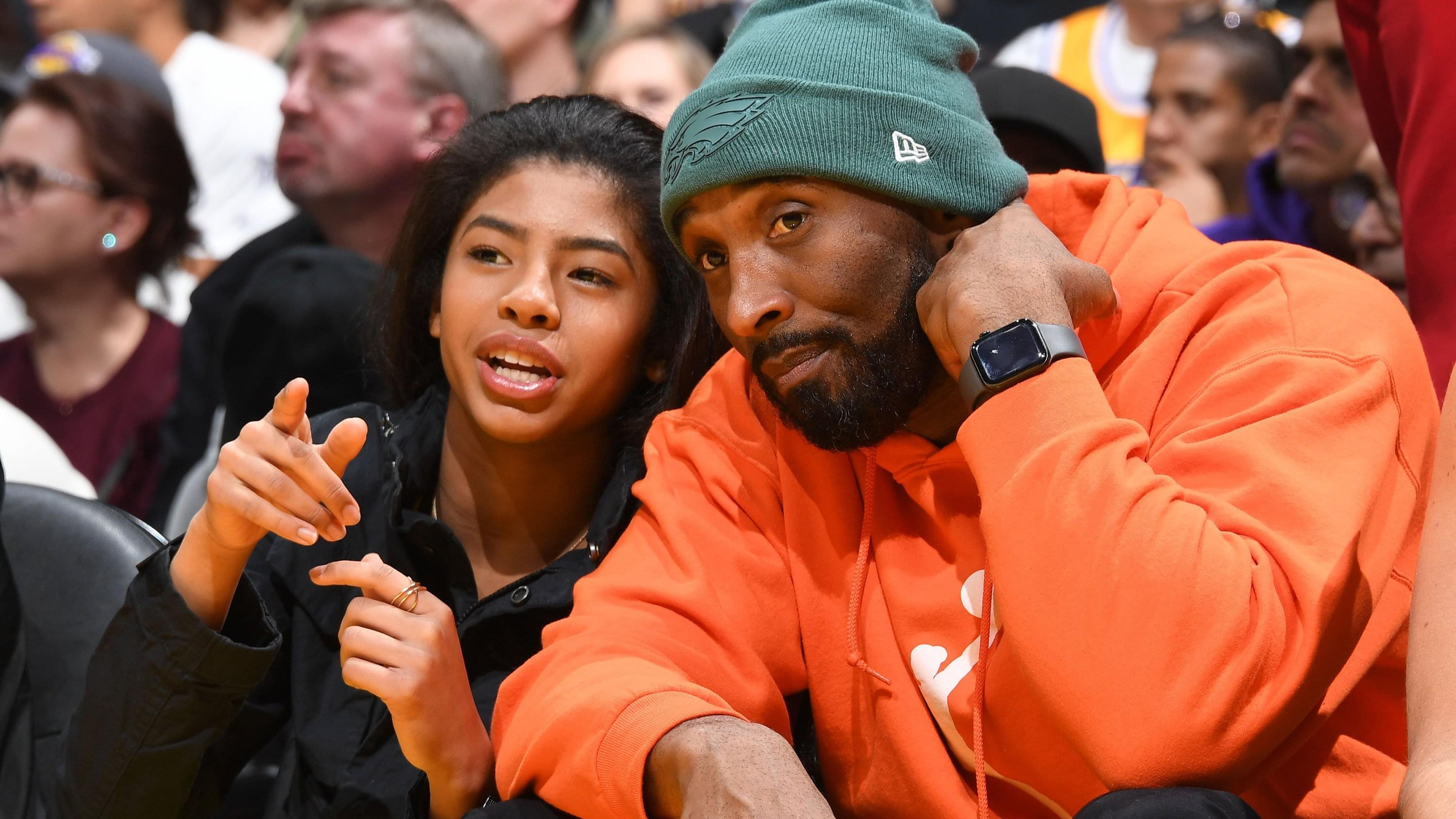 Kobe Bryant and his daughter, Gianna, killed in a helicopter crash in California