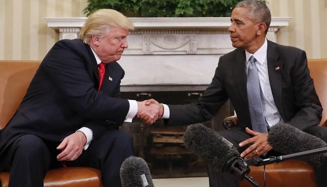 Trump obama AP