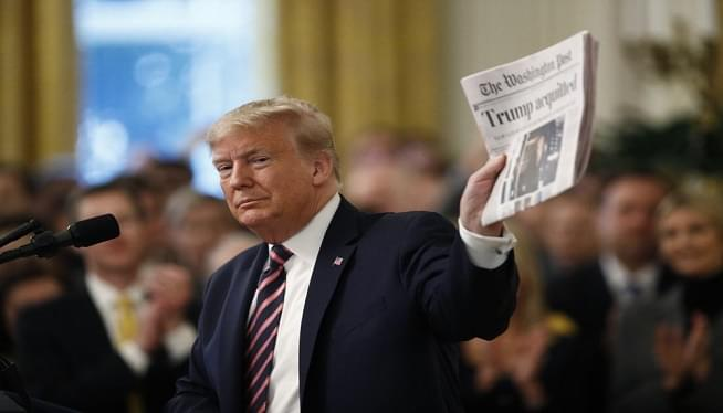 Trump WaPo Acquitted