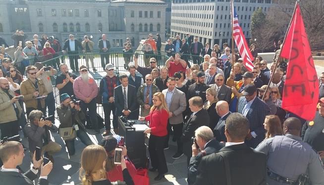 Virginia Republican Amanda Chase Announces Gubernatorial Run