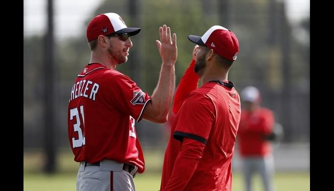 Nats' Max Scherzer To Face Astros In Exhibition Opener