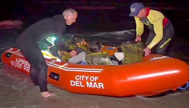 13 suspected immigrants rescued from ocean off California