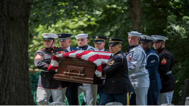 Pandemic prompts changes to funerals at Arlington National Cemetery