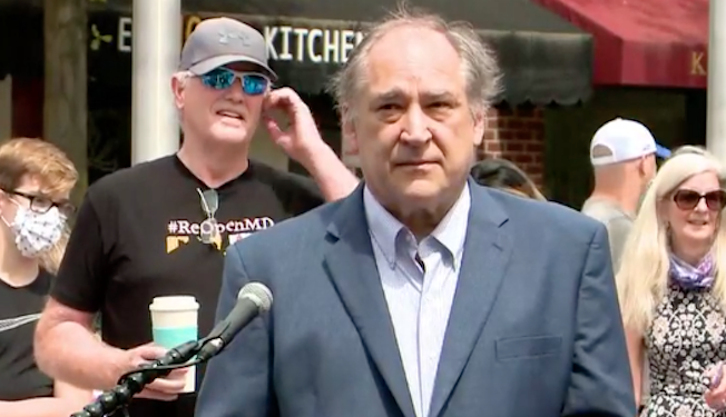 WATCH: Montgomery County Executive Marc Elrich heckled when announcing county will move into Phase I of reopening June 1
