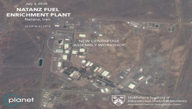 Iran Declines To Disclose Cause Of Mysterious Nuke Site Fire