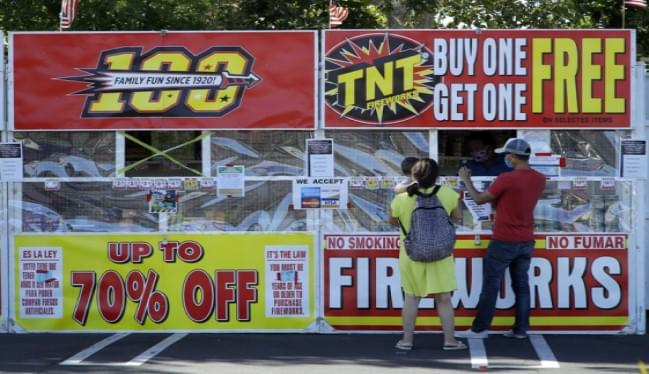More Fireworks In Americans' Hands For July 4 Raises Safety Risks