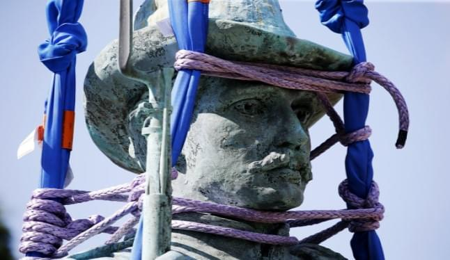 Richmond Removes Confederate Soldiers and Sailors Statue