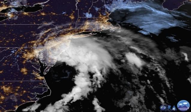 Fast-Moving Tropical Storm Fay Makes Landfall In New Jersey