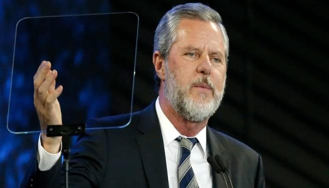 Liberty University's Falwell Jr. taking leave of absence