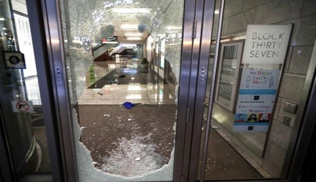 More Than 100 Arrests, 13 Officers Hurt Amid Chicago looting