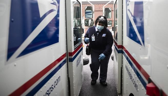 Major US postal workers union endorses Biden for president