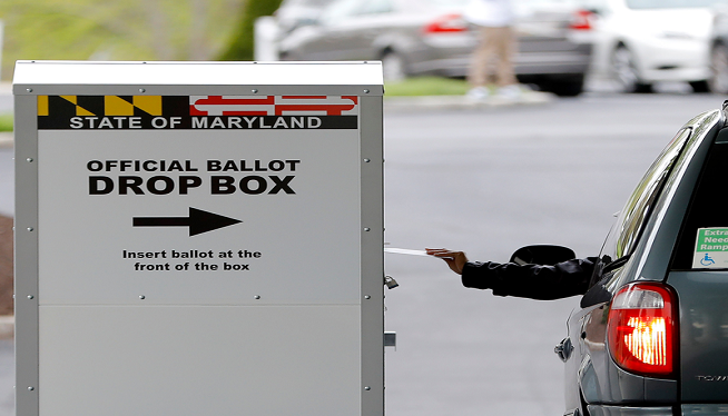 maryland mail in voting ap