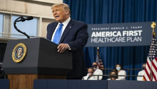 President Trump Unveils 'America First' healthcare plan in NC